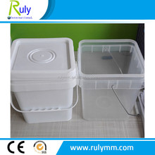 Manufacting plastic pails with handle and lid factory offer
