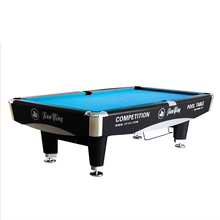 Hot Selling Professional Stainless Steel Leg Cushion Billiards Pool Table