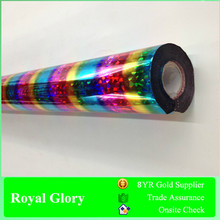 Royal Glory Hot Stamping Foil for Textile T-shirt Cloth