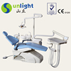 China Best Electricity sunlight dental chair with unit with options low price high quality