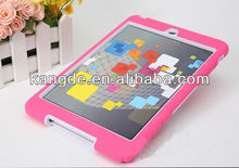 Rugged silicone tablet protective cover skin for ipad mini & drop protection silicone tablet case for kids
