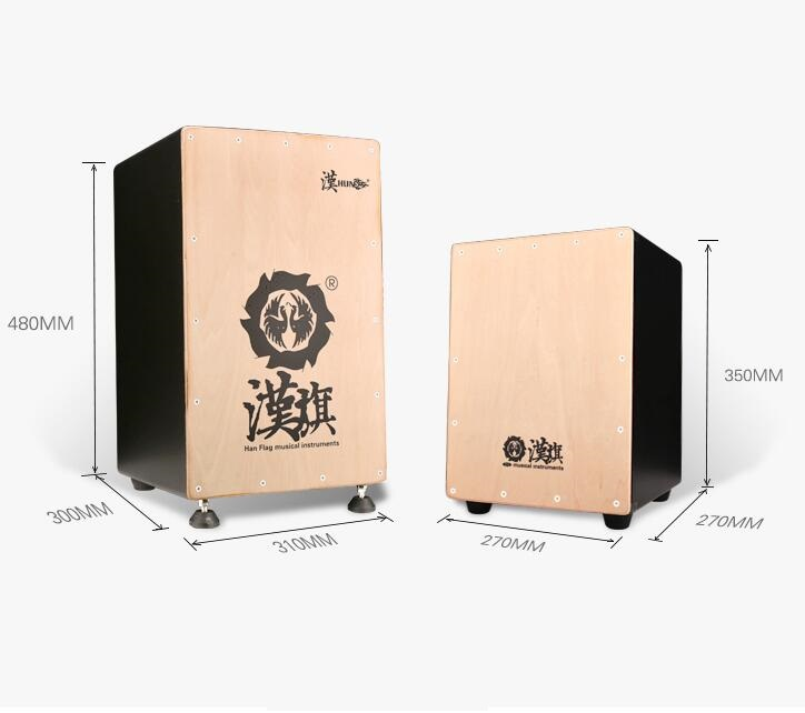 OEM factory latin traditional Cajon drum