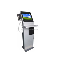 Touch Screen Cash Payment Kiosk With