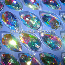 glass stones sew-on quality style diamond