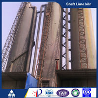 Durable lime stone vertical shaft lime kiln