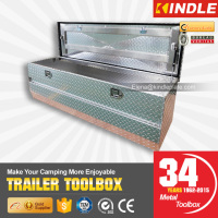 Outdoor Camping Pickup Truck Trailer Aluminum Tool Case Large Box