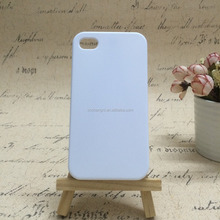 3D Sublimation with custom printed case for Iphone4/4s