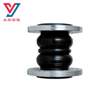 Acid-resist galvanized steel flange rubber expansion coupling joints