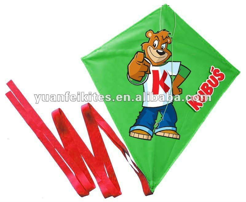 Diamond cartoon kite