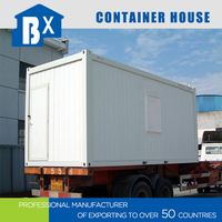 Flat Package steel structure Prefab Container Houses