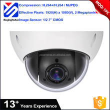 cctv face detection camera 2 Megapixels H.264 MJPEG compression high speed ip camera dome