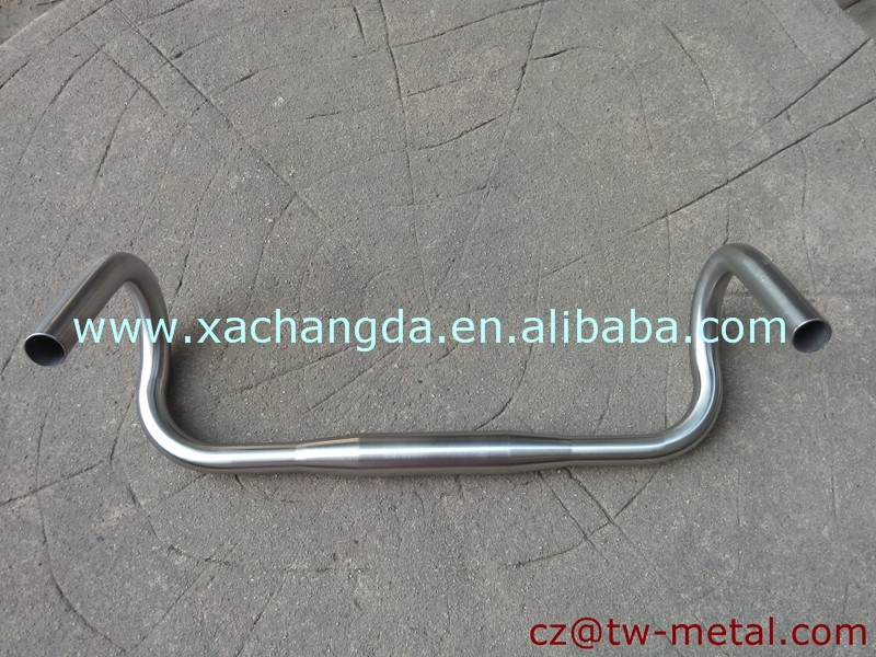 Titanium cyclocross handle bar road bike handlerbar Customized hanale bar