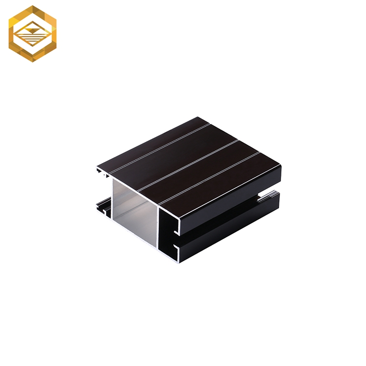 High quality powder coated aluminum alloy sheet extrusion profile