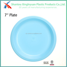 Hard material party cheap reusable plastic cake plate