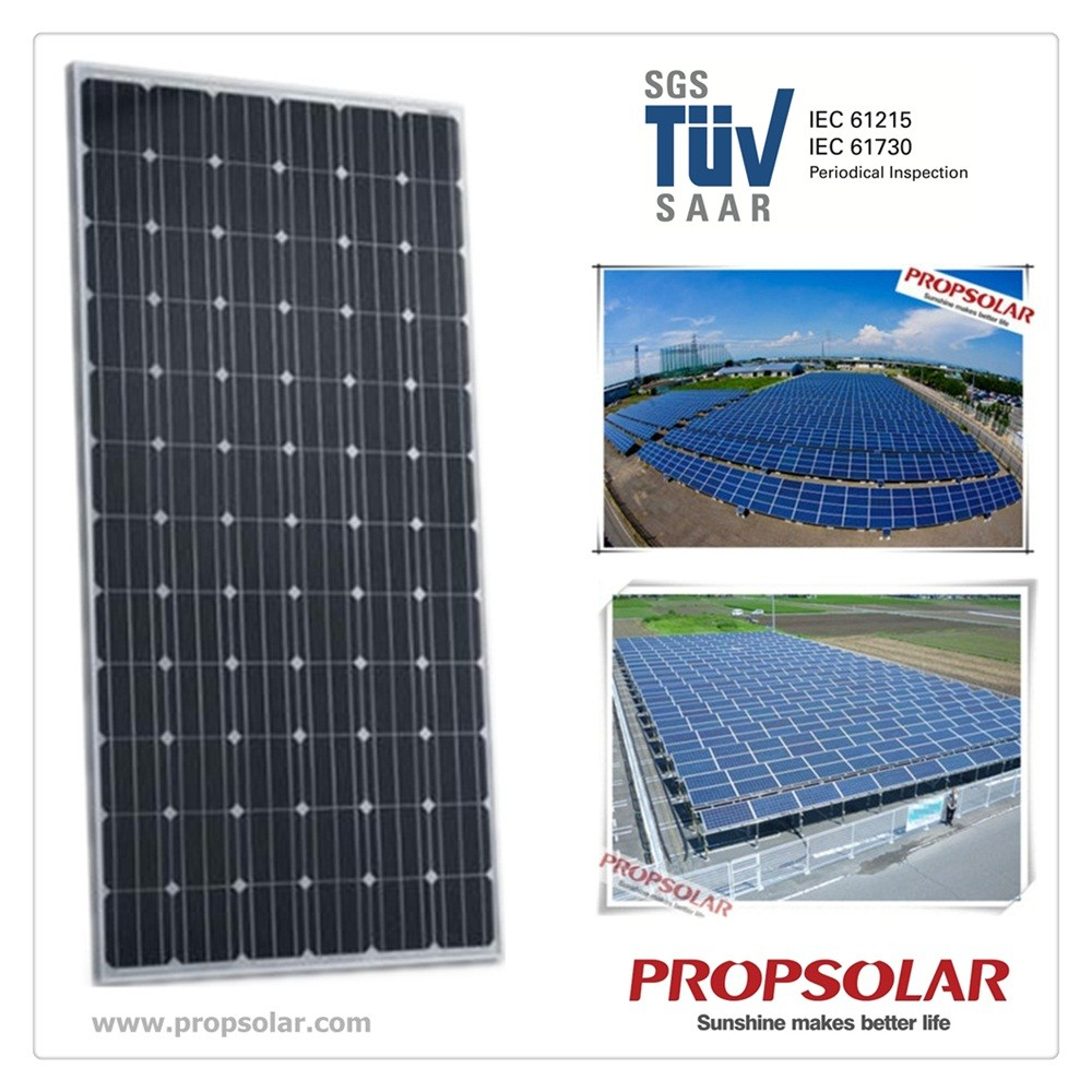 Solar panel manufacturers in china with best quality and best price of Mono 320W