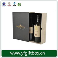 Custom Design Gift Box Cardboard Paper Wine Packaging