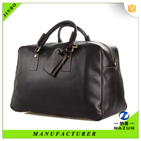 Thailand alibaba men fashionable leather travel bags 2014