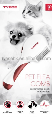 Electronic Pet Flea Comb Chemical free