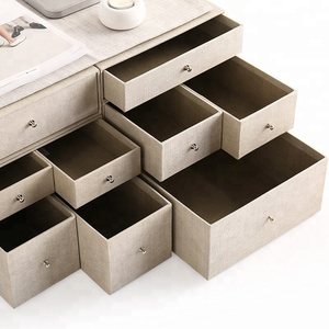 Custom Cardboard Art Paper Cosmetics Drawer Collection Box Wholesale