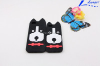 Oem custom-made 3d animal silicone phone case