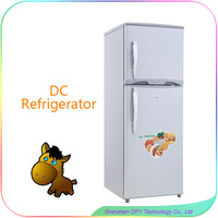 New Design manufacture 138l double door refrigerator dimensions