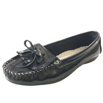 Soft Patent Leather Slip-ons Comfort Loafer E Fit'n Shape Shoes