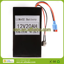 Manufacturer selling electric golf cart battery 12V 20AH