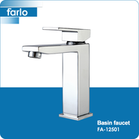FARLO wholesale chrome finish 2-way water tap