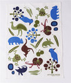 Australian design printed 100% linen tea towels