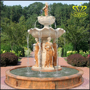 China suppliers New product hot sale outdoor home garden decor marble water fountain