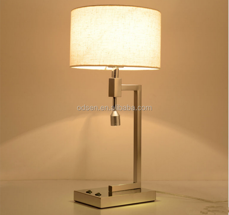2017 modern hotel lamp table lamp cheap lighting flexible reading lights for beds