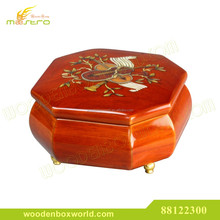 Luxury High Gloss Lacquer Wooden Jewelry Music Box