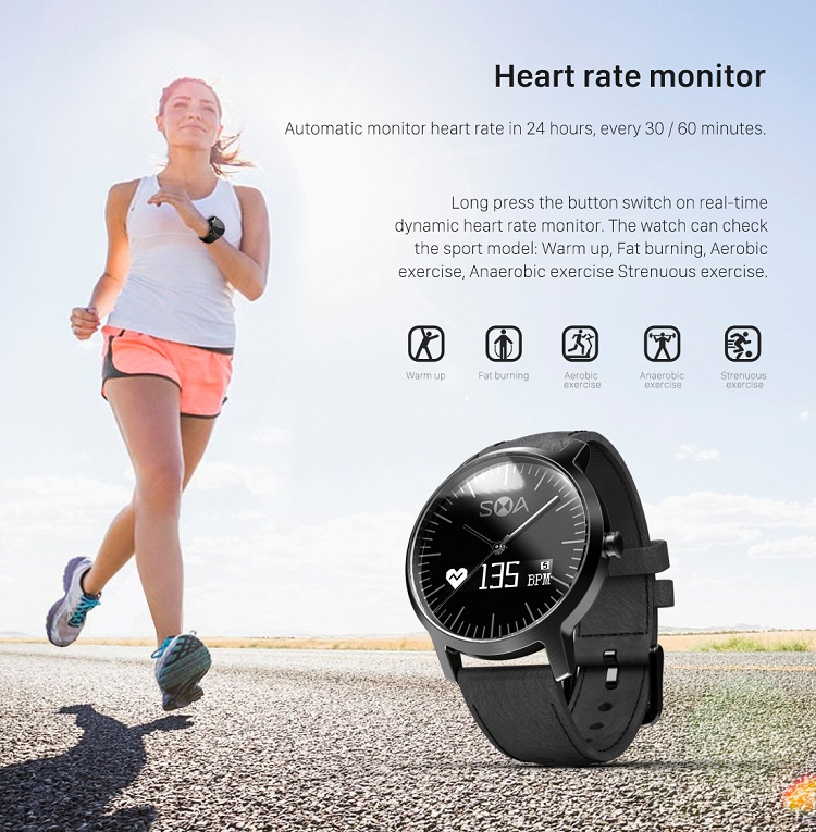 Innovative swiss Movement bluetooth pedometer private mould original design smart watch ohone