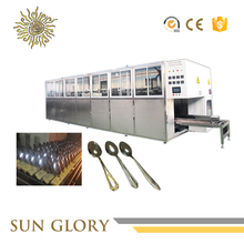 High Class Stainless Tableware Cleaning Line