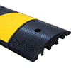 New Integral 6 Foot Reflective Rubber Speed Hump 1830*300*58mm Speed Bump for Road Safty