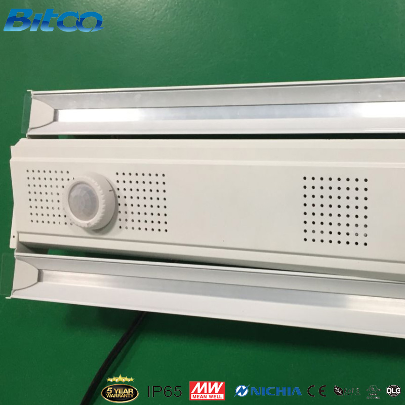 Brilliant quality AC 100-277V PC aluminum body IP44 200W linear fixture high bay