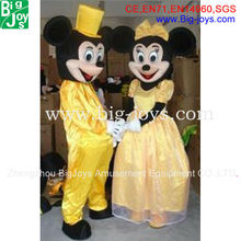 mickey minnie mouse mascot costume