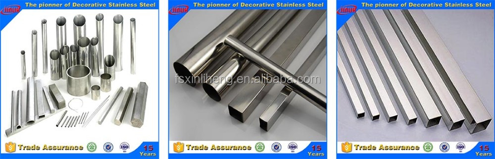 China supplier on Alibaba com best quality 201 304 stainless steel pipe/tube
