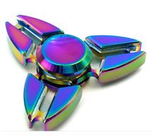 Hand Fidget Spinner Focus Toy Relieves Adhd Anxiety Autism and Boredom Ultra Durable High Speed Bearing Spins