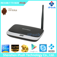 Top selling watch free movies online internet tv box Quad Core 2GB RAM 1080P Android 4.2 4.4 CS918 TV Box