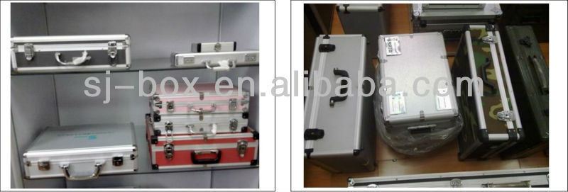 Hot sale aluminum trolley tool case with good quality