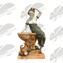 Home Decoration Beautiful Life Size Marble Naked Woman Statues for Sale