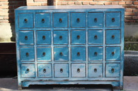 Chinese antique furniture, reproduction antique natural recycle wood file cabinet