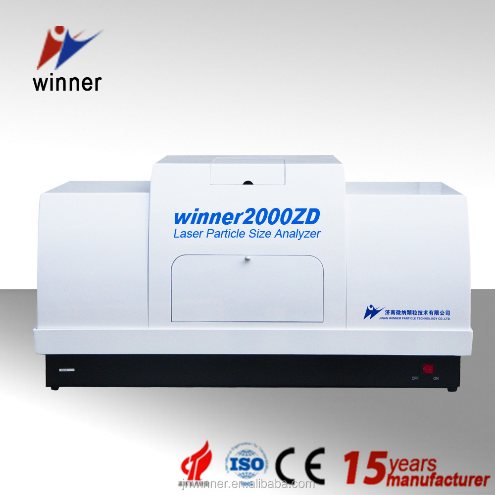 Stable test China topseller Winner 2000ZDE battery materials particle machine