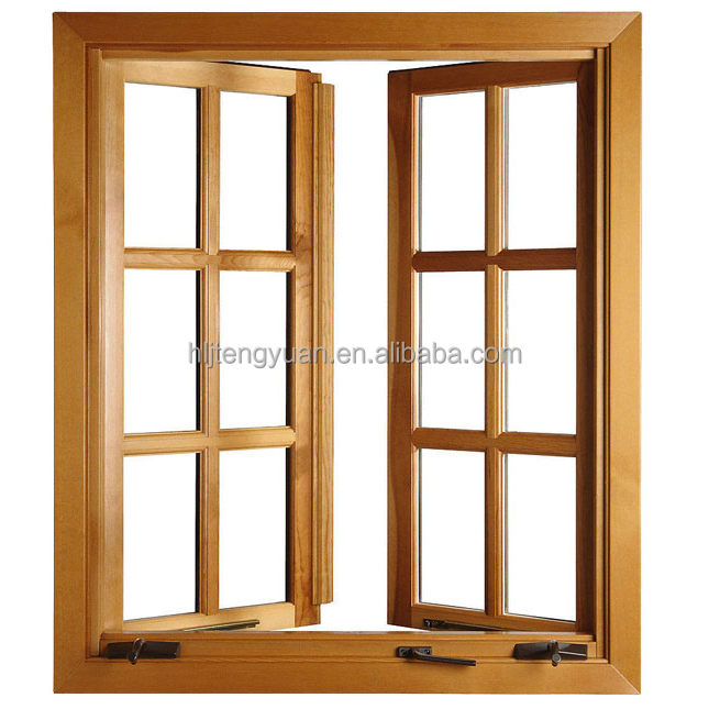 Germany Standard 68mm Solid Wood Window