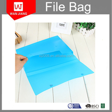 Plastic file folder,pp document bag,a4 plastic file box