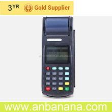 Contemporary msr rfid gprs airtime recharge pos