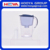 3.0L WATER FILTER PITCHER,WHITE+BLUE , 1 pitcher with 3 filter
