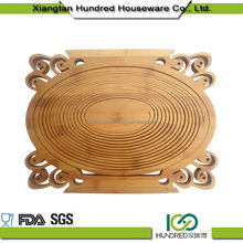 100% Organic The Newest bamboo fruit vegetable basket