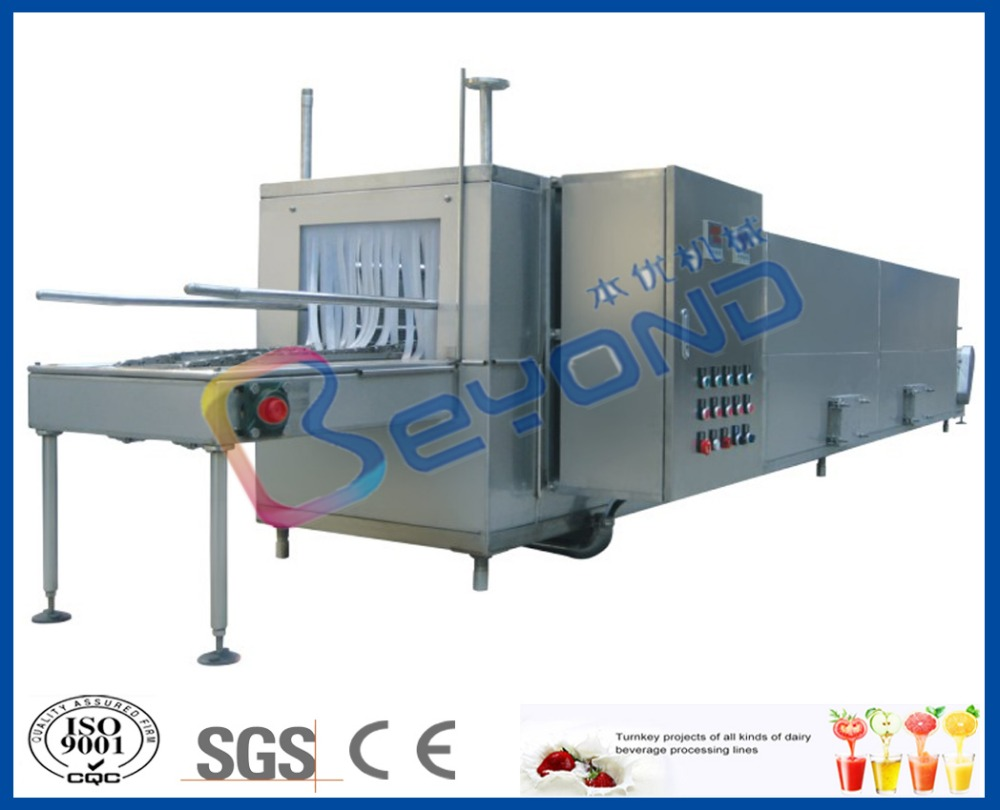 plastic crate washing machine